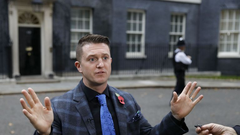 Tommy Robinson (pictured) has been appointed an adviser by UKIP leader Gerard Batten