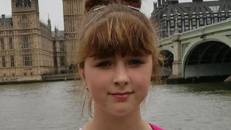 Viktorija Sokolova was found 'draped' over a park bench. Pic: West Midlands Police