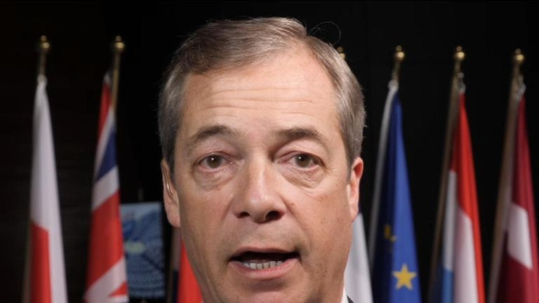 Nigel Farage predicts there will be a second referendum on Brexit